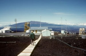 Daniel Botkin at the Mauna Loa Observatory
