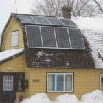 Solar Energy Where It's COLD Outside