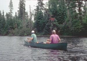 Thoreau Maine Canoe Trip 1995