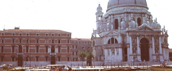 The famous church, La Salute, on the Grand Canal in Venice, Italy, stands on muddy soil stabilized by more than 1 million saplings driven into the soil centuries ago.