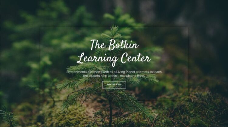 New Educational Website from Dan Botkin